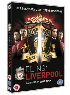 Being Liverpool Win Being: Liverpool on DVD