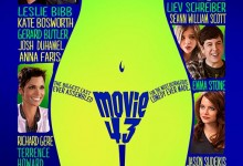 Movie 43 Poster 220x150 New International Poster for Movie 43 with Emma Stone, Hugh Jackman, Jason Sudeikis & More