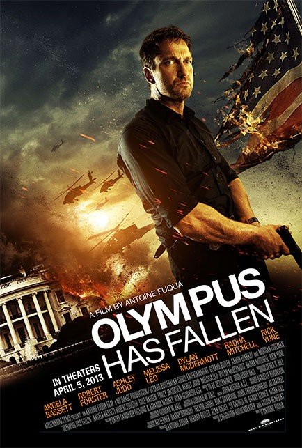 Olympus Has Fallen Poster New Poster for Antoine Fuqua's Olympus Has Fallen with Gerard Butler