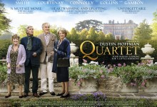 Quartet UK Poster 220x150 Exclusive: New UK Poster for Dustin Hoffmans Quartet