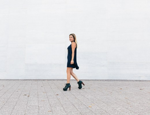 Now Trending: High Neck Tunic Dress
