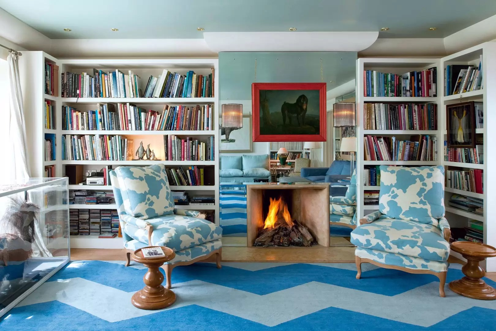 Masterly Living Rooms House Blue Living Room Wall Decor Blue Living Room Blue Living Room Ideas Blue Paint Ideas Wood Trim Living Rooms House Garden Blue Living Room Ideas Blue Paint Ideas houzz 01 Blue Living Room