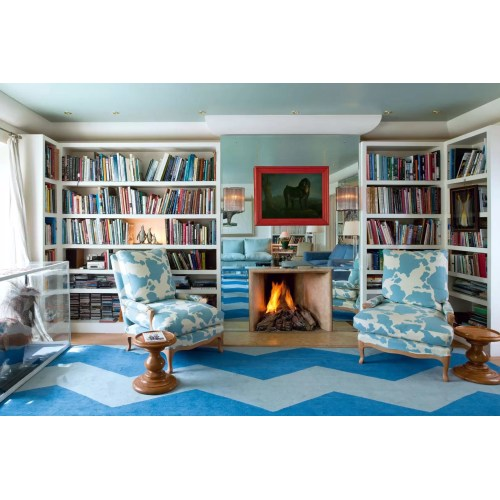 Medium Crop Of Blue Living Room