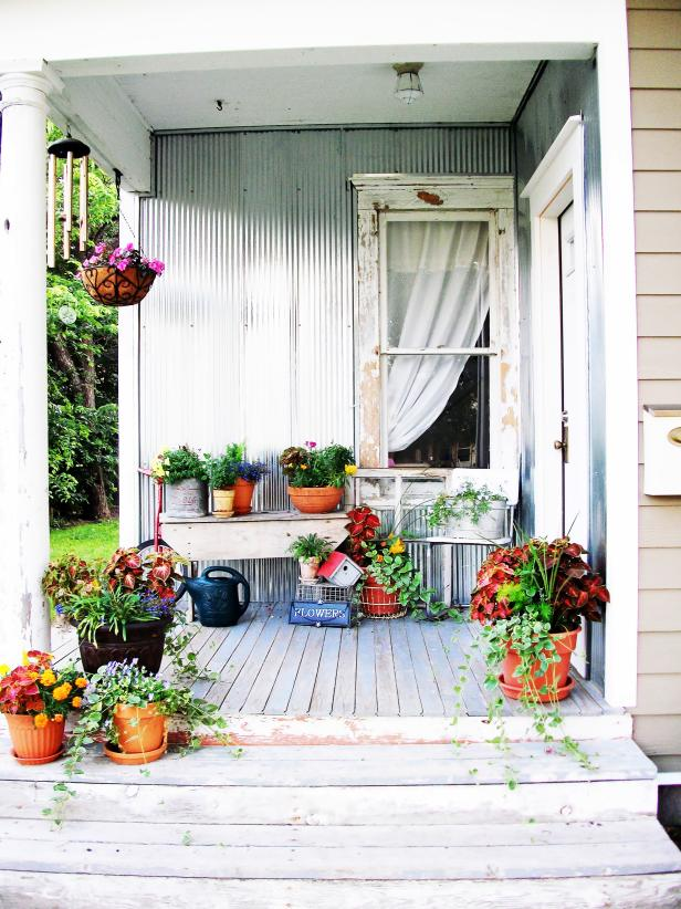Shabby Chic Decorating Ideas for Porches and Gardens   HGTV Shop This Look