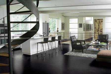 original the modern group black leather kitchen flooring s4x3 .rend.hgtvcom.1280.960