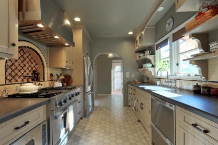 how to decorate a galley kitchen hgtv pictures & ideas | hgtv