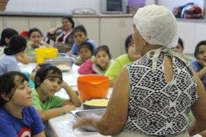Sesc Rio Preto: avós ensinam receitas de família para crianças