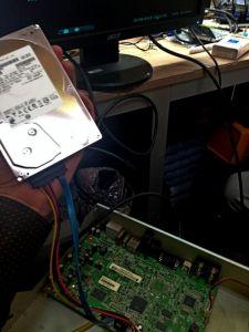 Регистратор Microdigital MDR-4500. Нет диска и пароль