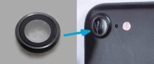 Замена стекла камеры в iPhone