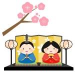 ひな祭りのイラストが無料 aiやepsでダウンロード!