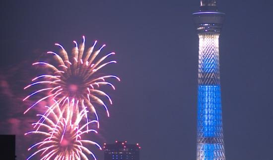 隅田川花火大会の席の予約