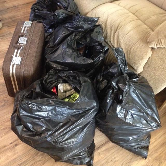 declutter the room