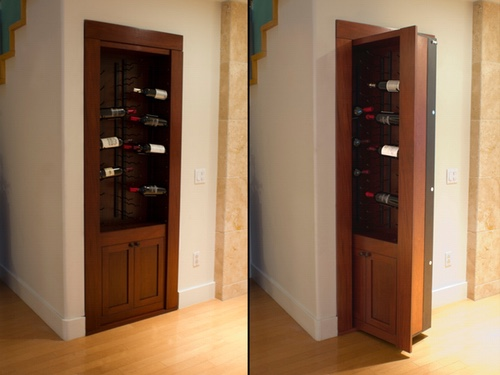 Wine rack vault Combined