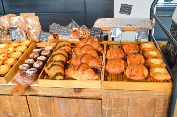 Selection in a French Bakery Korea