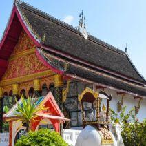 Wat in a Mekong Village