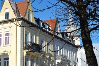 Diverse architecture in Altperlach