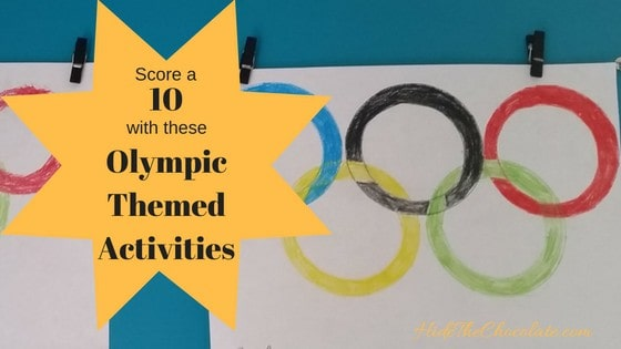 Score a 10 with these Olympic Themed Activities