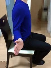 肩甲骨内転運動2