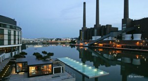 The Ritz-Carlton & the old Powerhouse