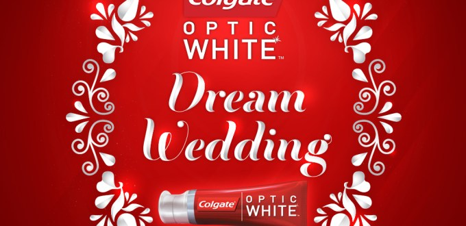 Colgate Optic White Dream Wedding