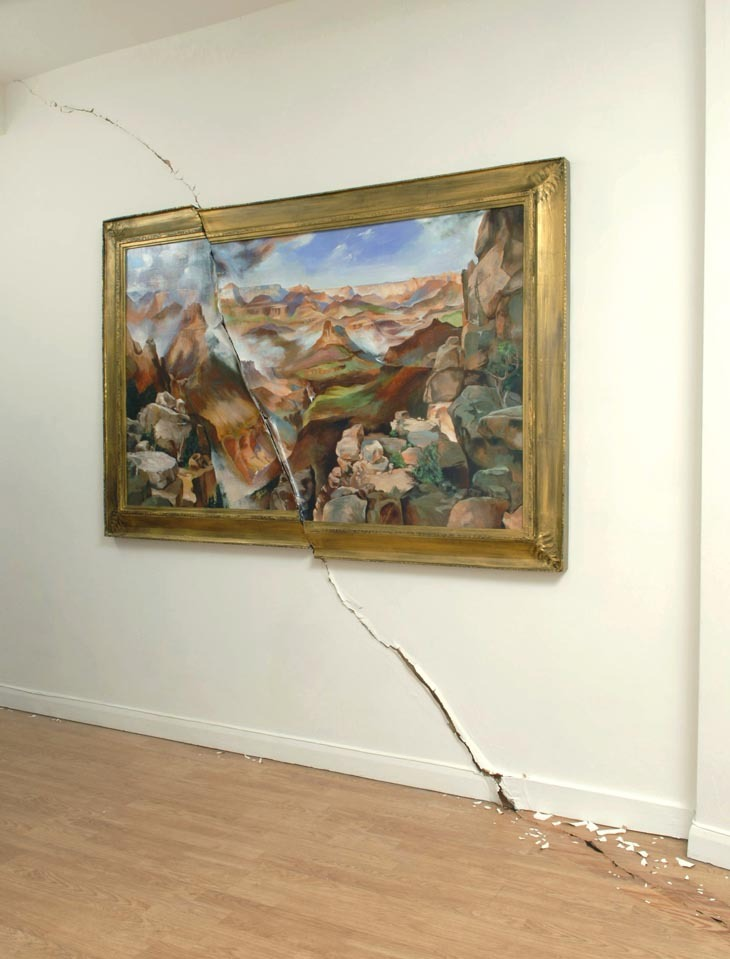Valerie Hegarty   Cracked Canyon