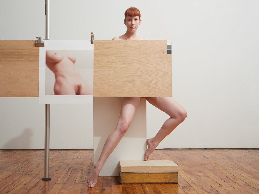 BILL DURGIN V with Plywood and Mosaic Prints