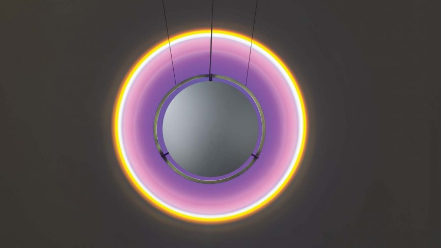 Olafur Eliasson Wavelength lamp