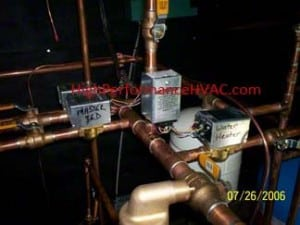 Hot Water Boiler Piping Zone Valves