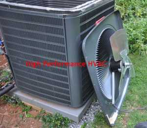Condenser Fan Motor and Blade for a Goodman Heat Pump