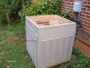 Maintenance for Heat Pumps - Basic Heat Pump Maintenance Trane Condenser