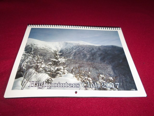 2017 Highpointers Calendar