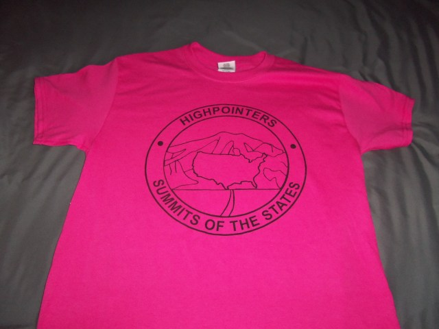 T-Shirt – Pink with large Club logo on Front