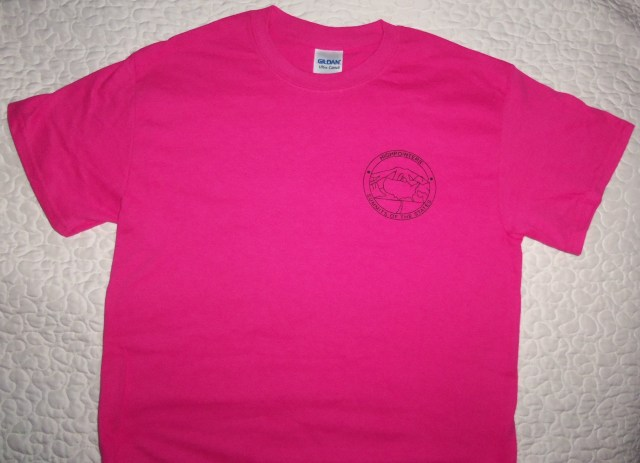 T-Shirt – Pink with small Club logo on Front