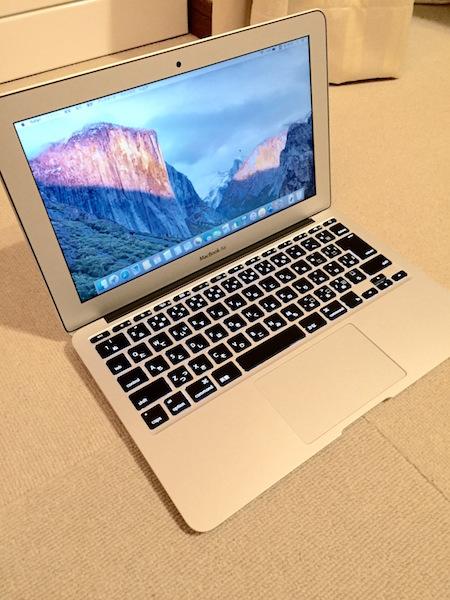 MacBook Air(2015モデル)
