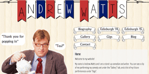 Andrew Watts's website