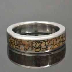 Small Of Dinosaur Bone Ring