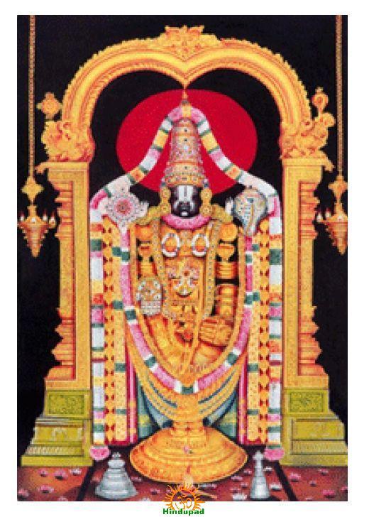 Venkateshwara Swamy Tirumala Tirupati Balaji
