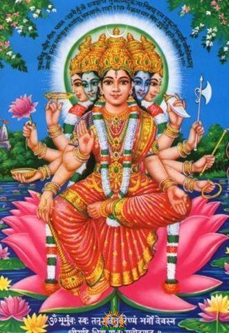 Gayatri Mata Goddess