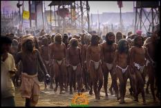 Sadhus of Akhara at Kumbh Mela 2013