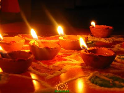 Significance of lighting lamp deepam