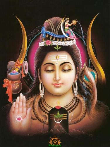 Lord Shiva as Chandrashekhara