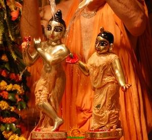 Janmashtami Abhisheka to Krishna