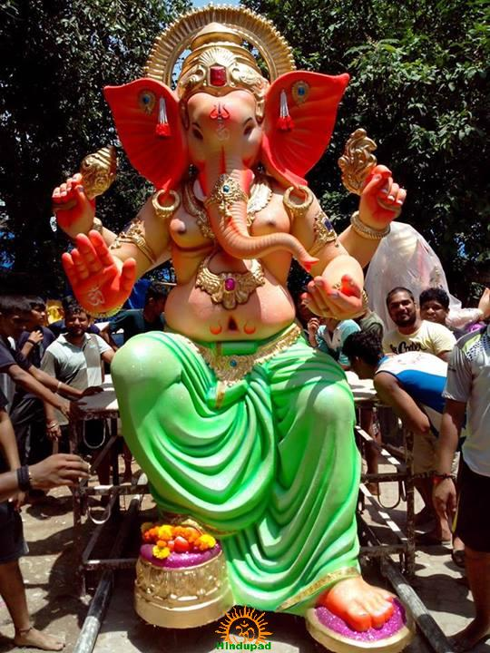 Currey Road Cha Raja Ganpati 2013 Mumbai