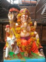 Ganesh immersion in Hyderabad 11