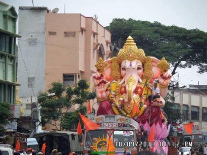 Hyderabad Vinayaka Nimajjanam