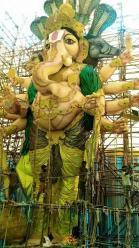 78-feet Ganesh idol Gajuwaka Vizag image 1
