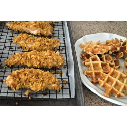 Small Crop Of Chicken  Waffles
