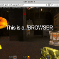 Quake II funcionando en un navegador con HTML5