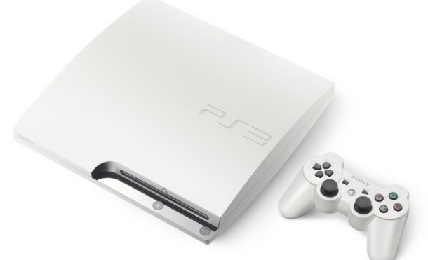 PS3 Slim blanco