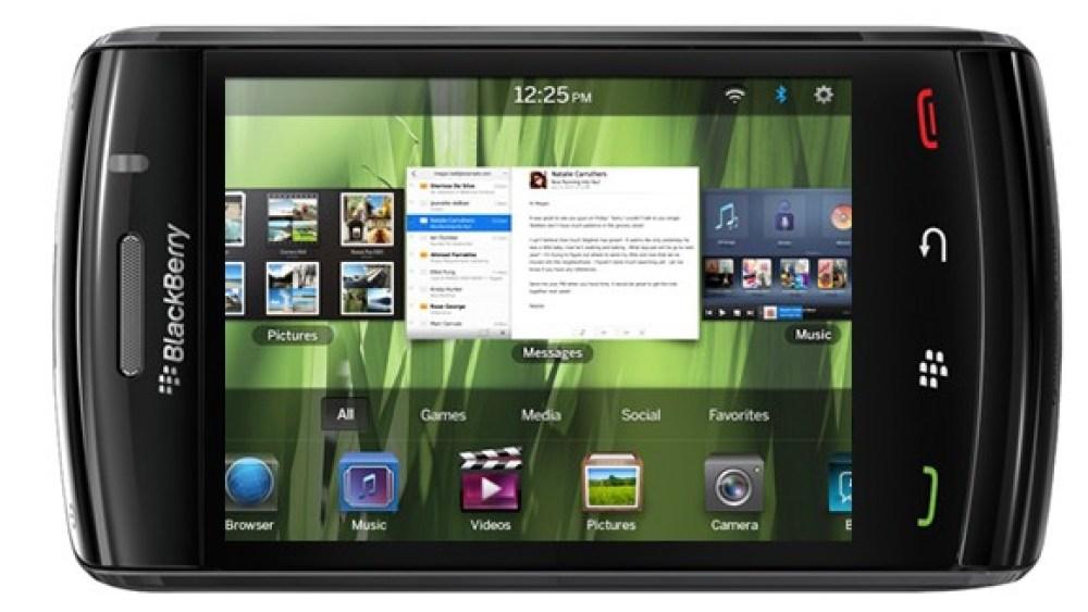 Nuevos Blackberry con QNX correrán aplicaciones Android a principios de 2012